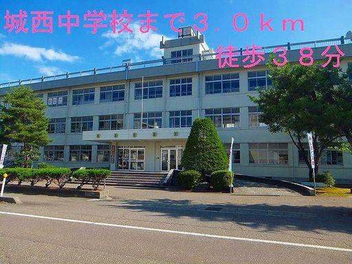 城西中学校 3000m