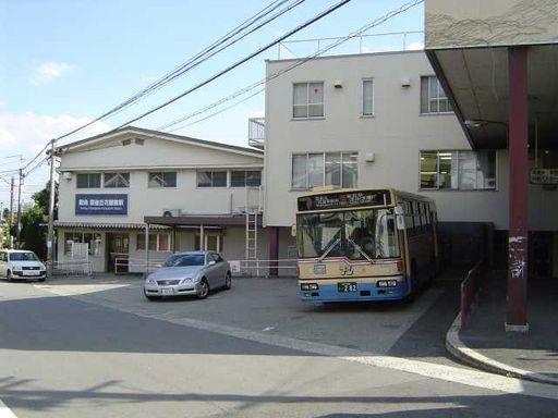 駅前バス乗り場