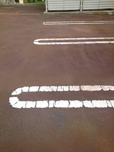 駐車場(ダブルライン)