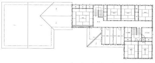 二階間取図