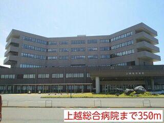 上越総合病院 350m