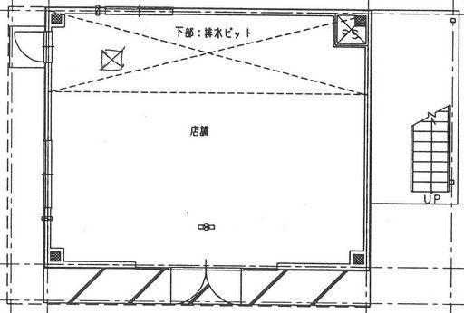 溝ビルⅥ'99-1F・図面