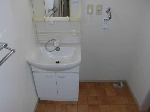 洗面台・洗濯機置場