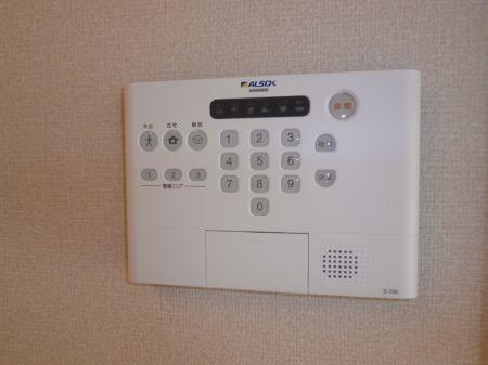 ホームセキュリティー操作パネル