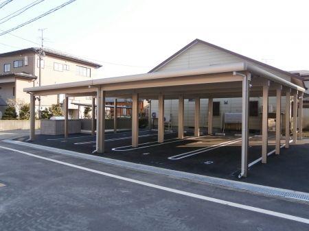 カーポート駐車場