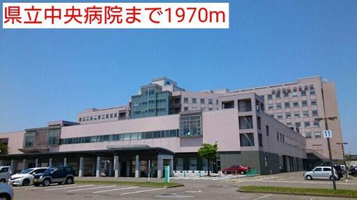 新潟県立中央病院 1970m