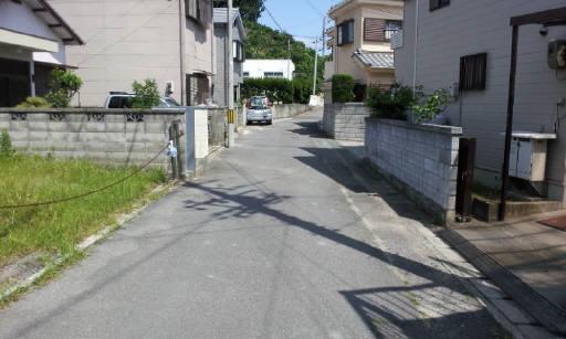 前面道路4メートル