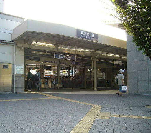 最寄の阪急仁川駅☆