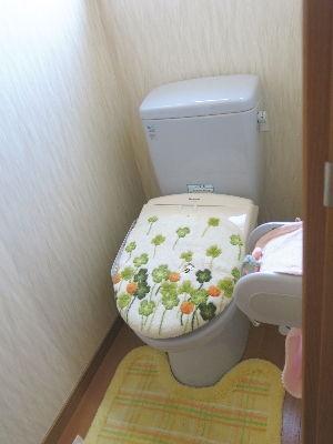 2階にもトイレ有