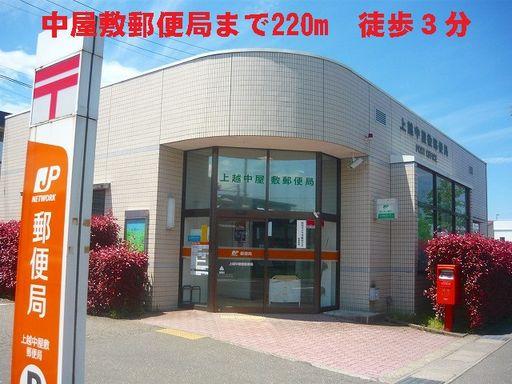 中屋敷郵便局 220m