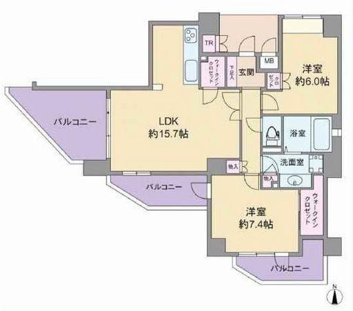 最上階南西角部屋☆
