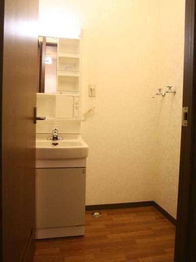 洗面台付・洗濯機スペース