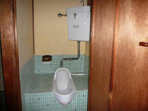 トイレ(水洗です)