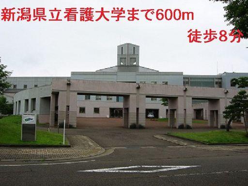 新潟県立看護大学 600m