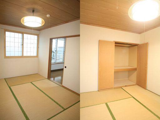 和室6帖(照明・収納付)
