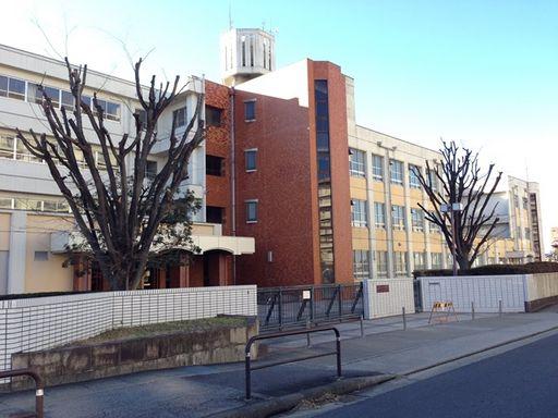 香流中学校 600m
