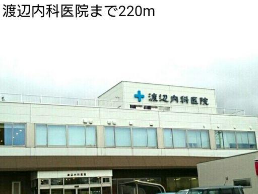 渡辺内科医院 220m