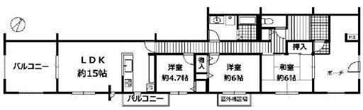 四方角部屋☆